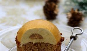 Dôme bavarois à la vanille et spéculoos