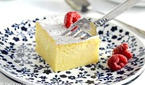 Gâteau magique au citron