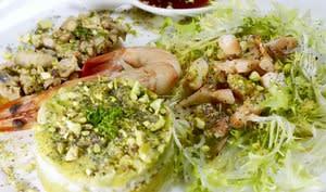 Légumes et fruits de mer aux saveurs asiatiques