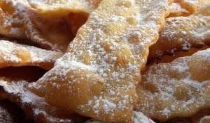 Bugnes croustillantes pour Mardi gras