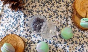 Macarons la vie en Vosges sapin, brimbelle