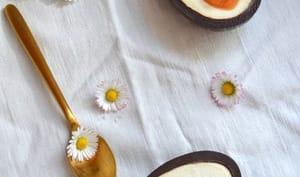 Dessert de Pâques aux oeufs en chocolat