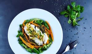 La salade de poisson sur tous les tons