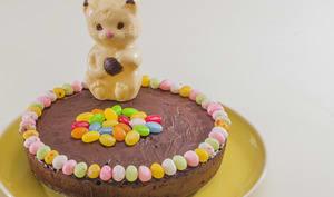 Gâteau au chocolat fondant de Pâques
