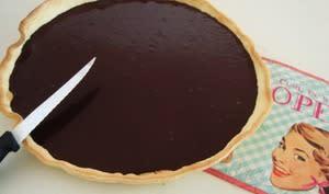 Envie de tarte au chocolat