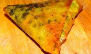 Brick à la viande hachée et au fromage
