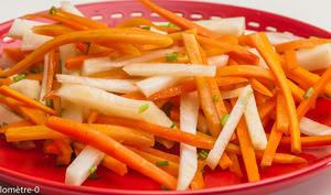 Salade de carotte et chou rave