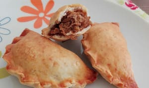 Mini empanadas au pulled pork
