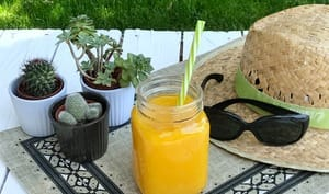 Smoothie mangue coco