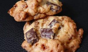Cookies chocolat et noisettes caramélisées