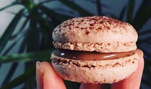 Macarons chocolat au lait et spéculoos