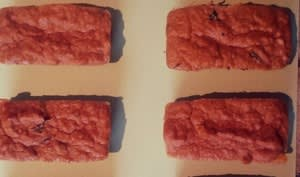 Petits cakes au thon et au basilic