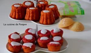 Muffin à la betterave rouge et confiture de gingembre