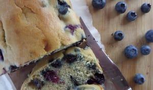 Cake à la semoule aux bleuets et sirop d'érable