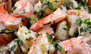 Des crevettes pour Benjamin Bufford-Blue