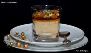 Flan de foie gras