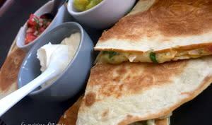 Quesadillas aux fromages