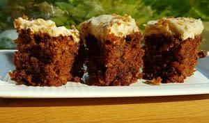 Gâteau aux carottes et aux noix