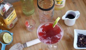 Margarita hibiscus et ginger ale