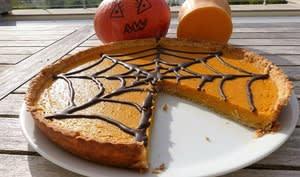 Tarte à la courge butternut pour Halloween