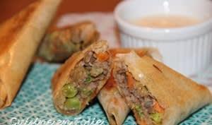 Samoussas bœuf et légumes