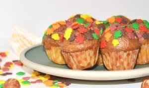 Mini-cupcakes praliné noisette et surprise citron