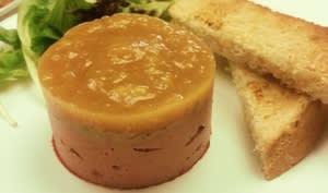 Terrine de foie et gelée de mangue aux épices