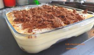 Trifle chocolat myrtille