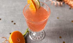 Cocktail clémentine cranberry