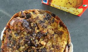 Panettone pudding de Jamie Oliver