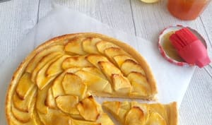 La tarte aux pommes facile