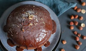 Gâteau chocolat noisette à la vapeur