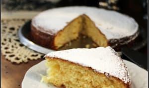 Gâteau au yaourt à l'ananas et au citron confit
