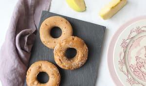 Donuts aux pommes caramélisées et cannelle