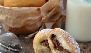 Beignets au chocolat pour Mardi gras