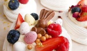 Les pavlovas de Pâques