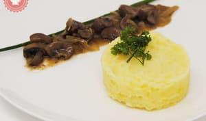 Rognons de bœuf sauce Vermouth