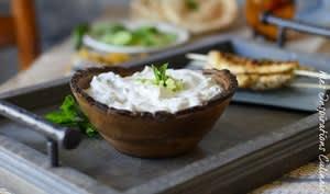 Salade de concombre libanaise au yaourt