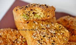 Petits pains à la farine de graines germées, sans beurre