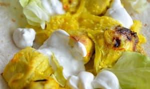 Poulet au safran et au citron