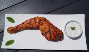 Poulet tandoori sauce raïta à la menthe