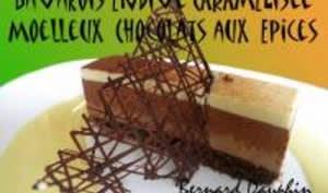 Bavarois d'Endive Caramélisée et de Chocolat aux Epices