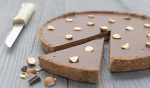Tarte chocolat sans gluten
