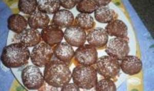 Biscuits Volcans au Chocolat