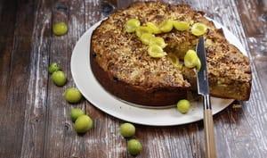 Gâteau streusel aux mirabelles