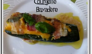 Courgettes Bayadère