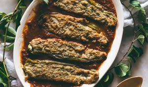 Piments farcis au pain