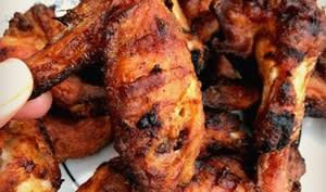 Ailes de poulet lime et poivre
