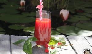 Cocktail betterave framboises