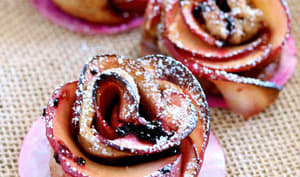 Rose aux pommes